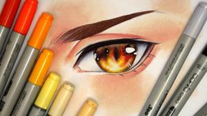 Drawing an Eye (III) - Video by Laovaan