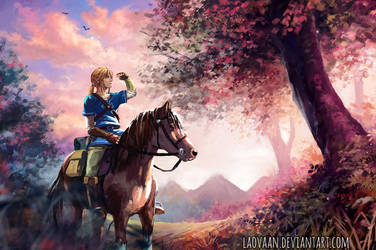 Link - Breath Of The Wild by Laovaan