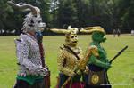 Dragon anthro - Drak'ar on tour by SchmiedeTraum