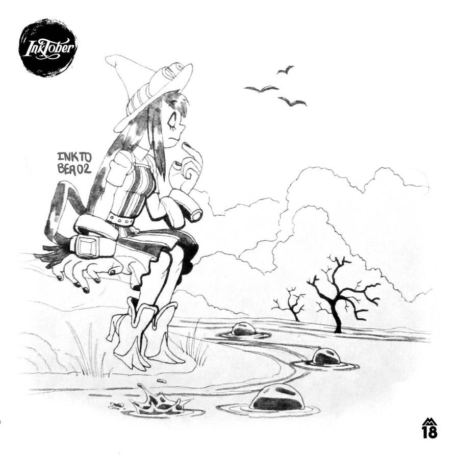 INKTOBER02 | Kero Kero by jonozoom