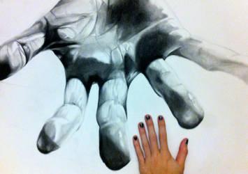 Handshake? by Elleon12