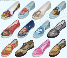 Shoe designs by siffert