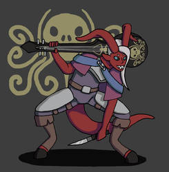 Master the crazy tiefling bard by Forced-enjoyment