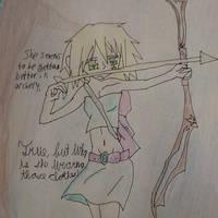 Archery practice by Moonstar2314