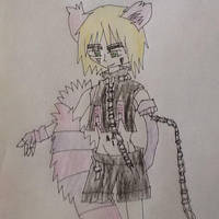 England as Cheshire Cat (Boris) by Moonstar2314