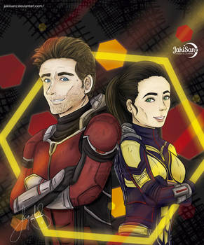 Ant-Man and the Wasp - MARVEL by jakisanz