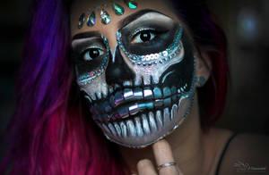 Silver Skull by PaulaDarwinkel