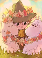 Moomin Commission by wunking