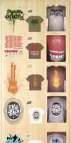 T Shirt Daft Punk by astroplus