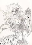 Regina Fuoco Dragonessa Commission by Rikien