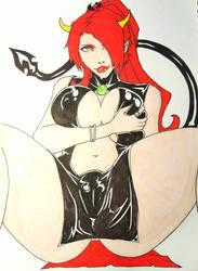 Commission - (11Marluxia) Temptress Elle by Rikien