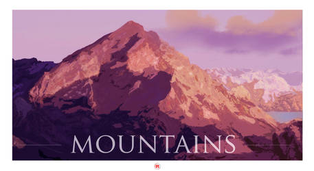 Mountains by Imakc