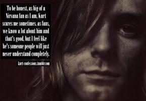 Kurt Cobain Confession by DeidaraTheHotty