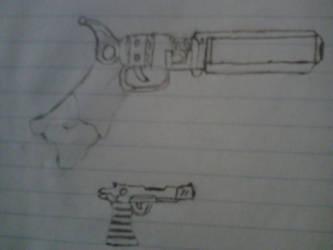 Practice Guns 2 by DelilaRhettDevillier