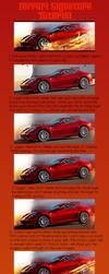 Ferrari Signature Tutorial by Chum162
