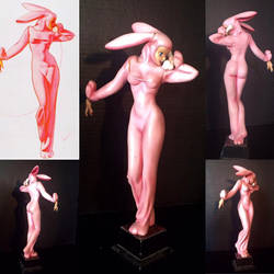 George Petty Pink Bunny by MarcusDeleo