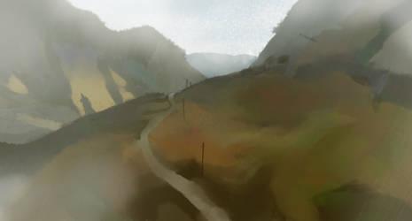 Landscape by Amadiro