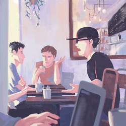 cafe talk by katcrunch