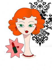Glamour lipstick by acetonxfree
