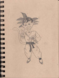 Kid Goku -RQ- by TheyCallMeSage