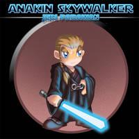 Anakin Skywalker by TerryTibke