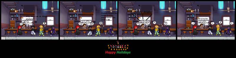 Happy Holidays 2018 by AzureOmegaZero