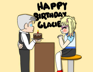 Glacies birthday (human version) by ClasherX35