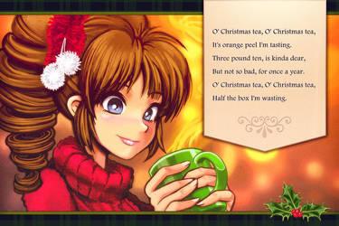O' Christmas Tea by Louistrations