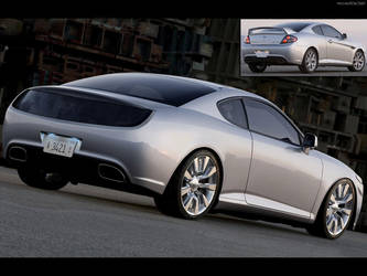 Concept muscle car by GTStudio