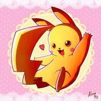 Pokemon- Pikachu by AlinaCat923