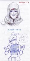 Korra-Licious Doodle by Epscillion