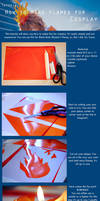 Tutorial - how to make flames for cosplay by GiH-Crafting