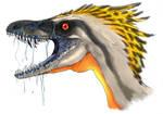 Sinornithosaurus by Fafnirx