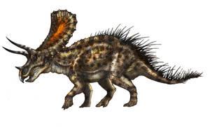 Triceratops or Torosaurus by Fafnirx