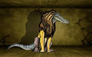 Ammut, the soul eater by Fafnirx