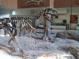 Monolophosaurus jiangji by Fafnirx