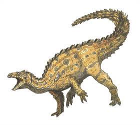 Tatisaurus by Fafnirx