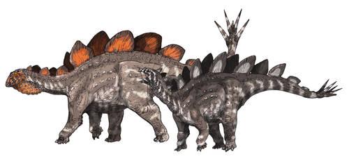 Hesperosaurus by Fafnirx