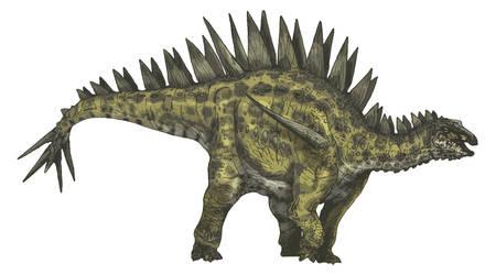 Tuojiangosaurus by Fafnirx