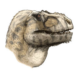 Tarbosaurus by Fafnirx