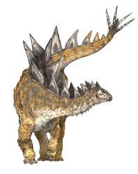 Jiangjunosaurus by Fafnirx