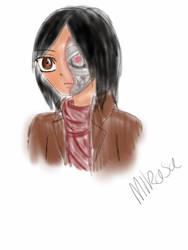 Attack on Titianators: MiKasA- Ackermann (doodle) by Tecna-assassin13