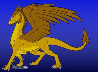 Leo Lionheart (Griffinized) by Fictioncreatorartist