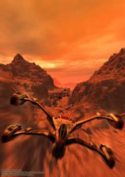 They are bobmbing Mars! by Magmarama