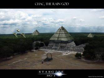 Chac, the Rain God by Magmarama