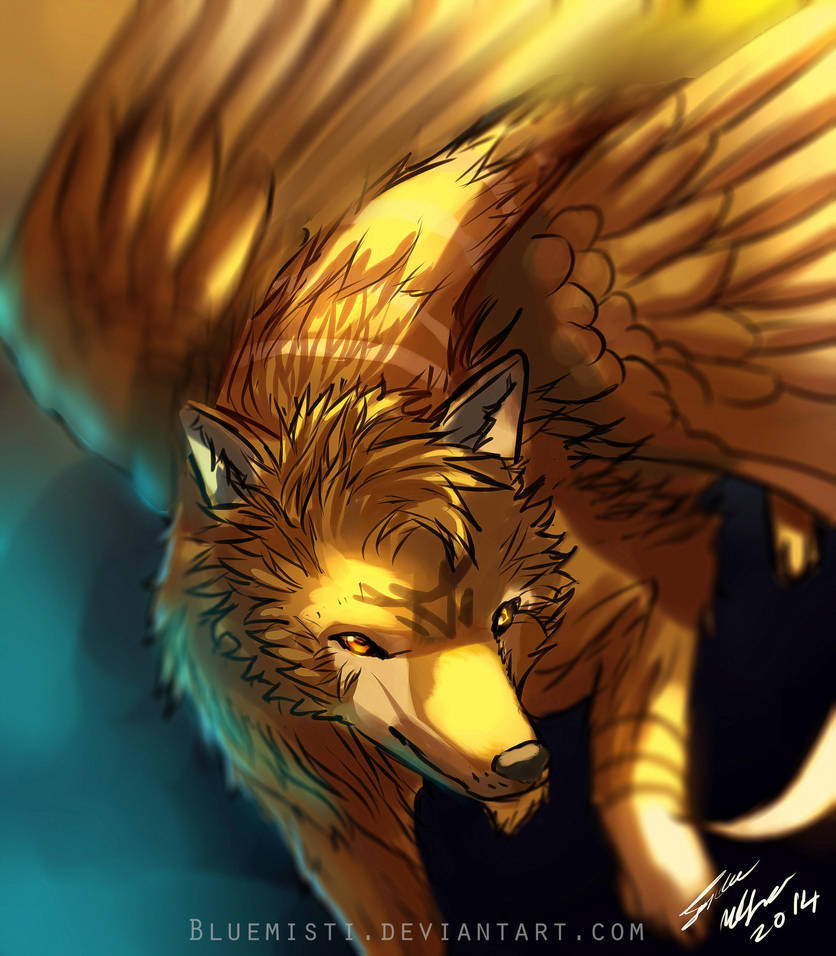 Wolf Wings By Kureenbean On Deviantart