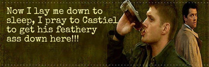 Dean Winchester Header by ladyofkaeleer