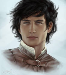 OC Rand Iolaire of the Scoth by kwbunyap