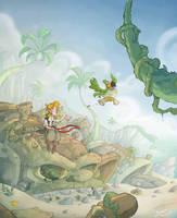 Monkey Island fan Art by Cirolmo