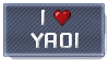 I Love Yaoi STAMP by Yuna-Breikoft